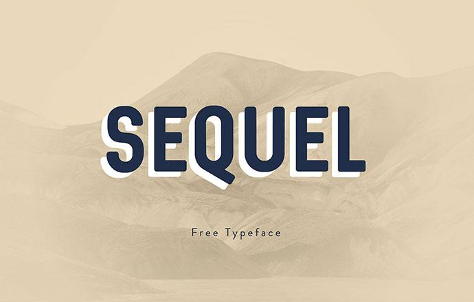Sequel - Free Typeface