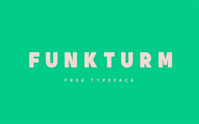 Funkturm - Free font