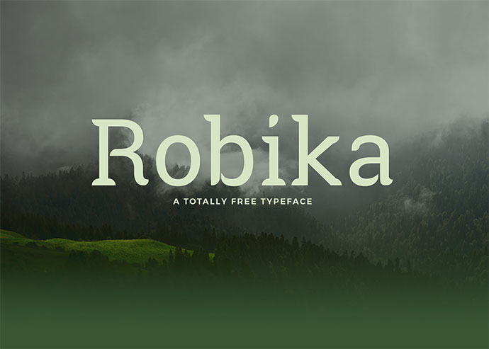 Robika - Free Font