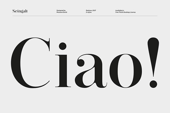 Seingalt - Free Font