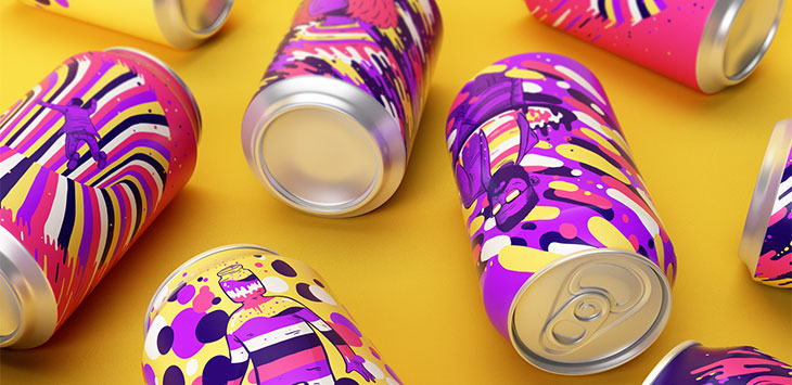 30 Cool Packaging Designs Gone Wild With Color
