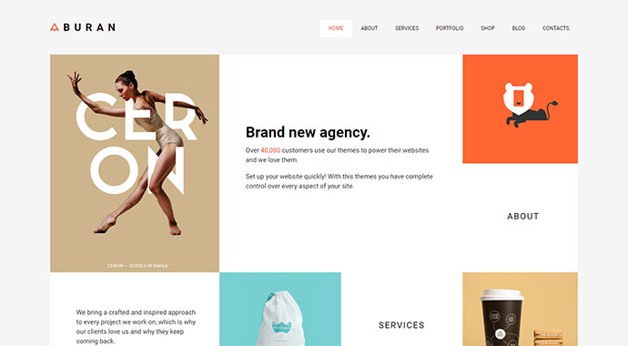 Freeman - Creative WordPress Theme for Agencies
