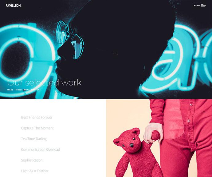 Pavillion - Creative Multi-Purpose WordPress Theme