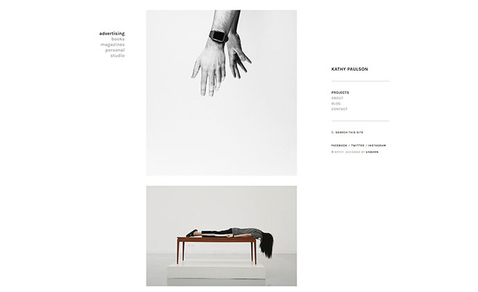 Kathy - Minimal Photography and Portfolio WordPress Theme