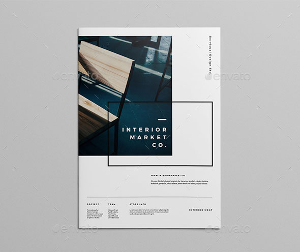 Catalog Furniture Companies: 40 Best Brochure Design Templates 2018