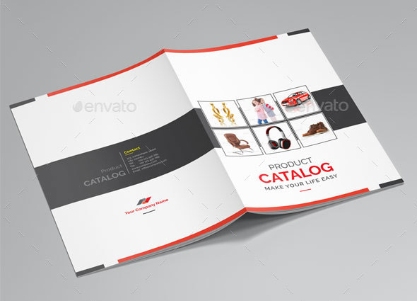 40 best brochure design templates 2018 web graphic for Sample product catalogue template