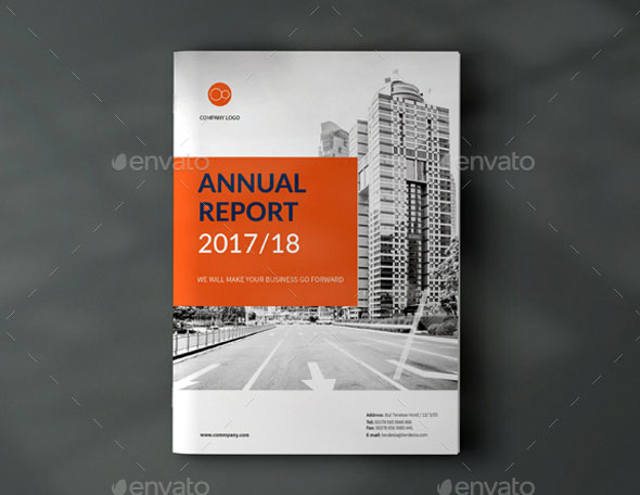 Annual Report Template Brochure