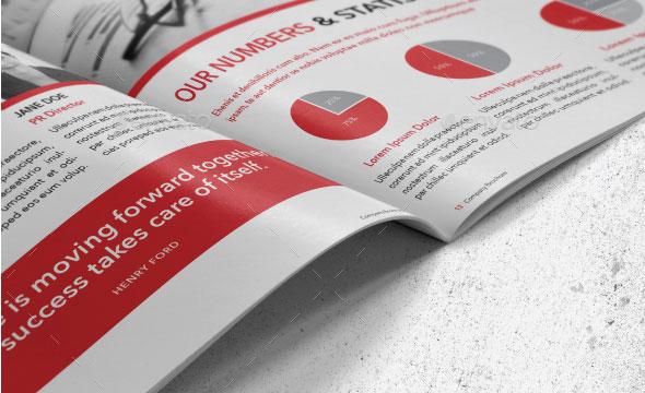 Indesign Corporate Brochure Template