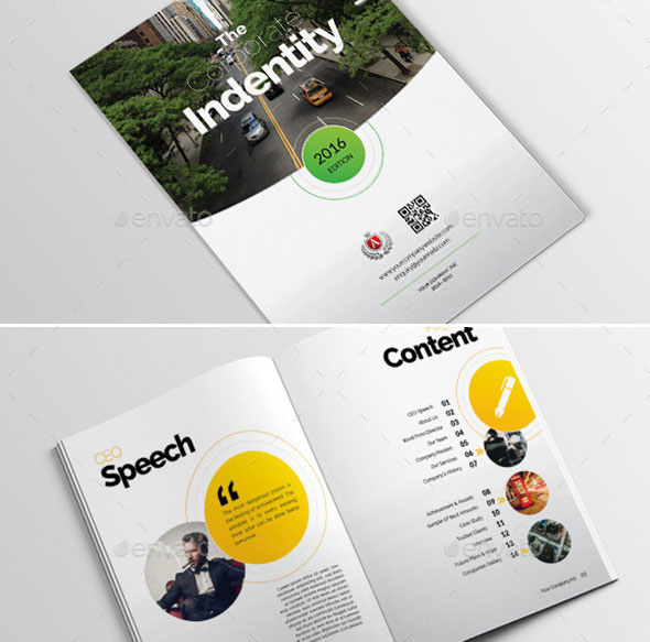 40 Best Brochure Design Templates 2018 | Web & Graphic Design | Bashooka
