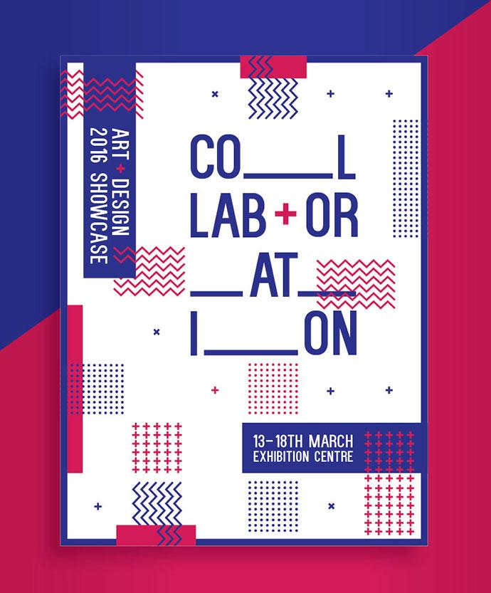 Collaboration Exhibition Branding