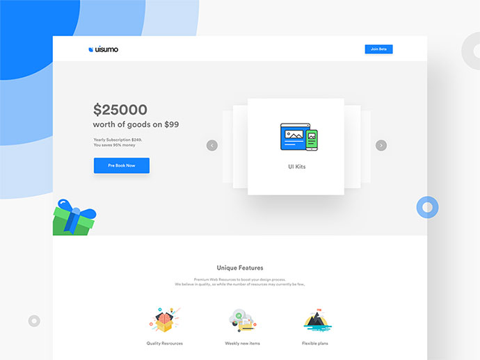 UISuMo Landing page - WIP