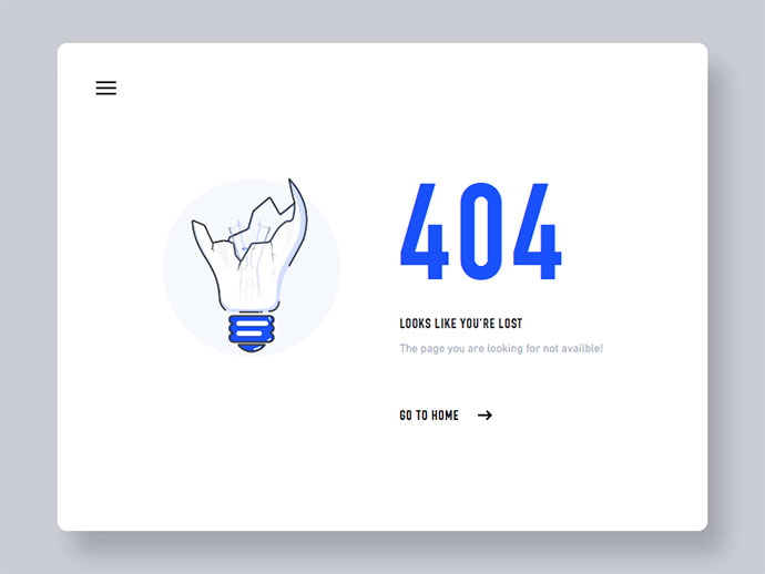 404 Page - Day #007