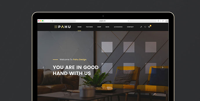 PAHU - Free PSD Website Template