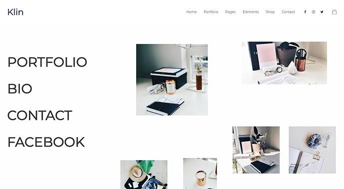 Klin - Multipurpose Portfolio Theme