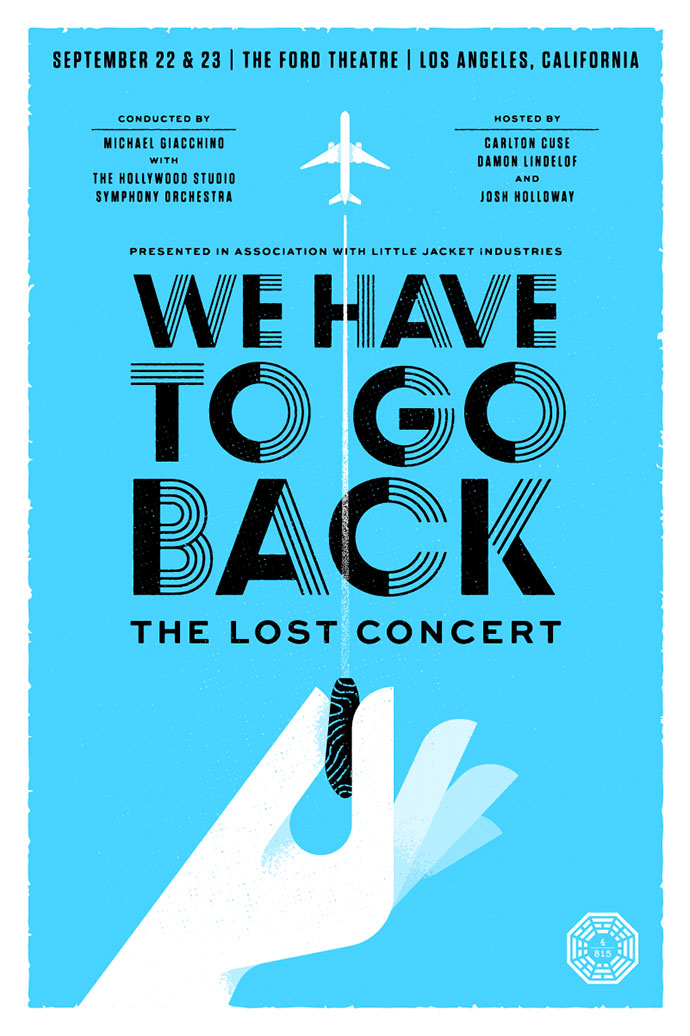 We Have To Go Back Poster - Top