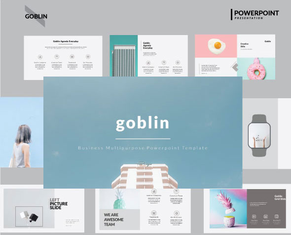 Goblin Multipurpose PowerPoint Template