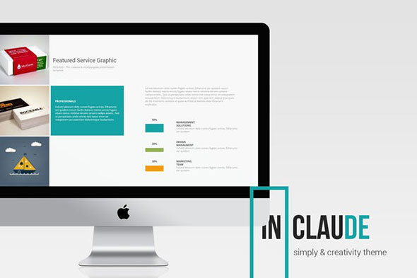 Claude Clean & Business Template