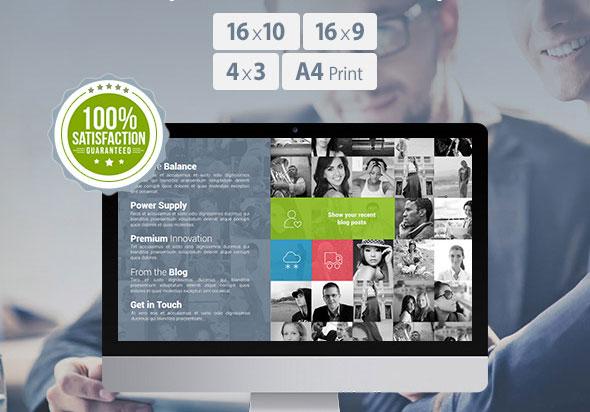 Prestige-Pro PowerPoint Presentation Template