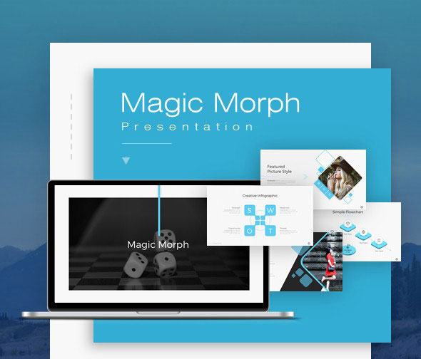 Magic Morph Powerpoint Template