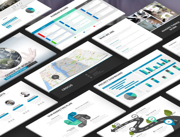Crocus – Multipurpose PowerPoint Template