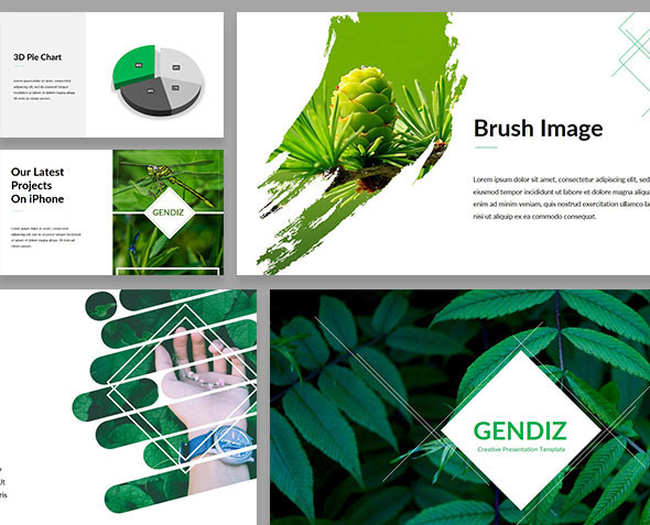 Gendiz Powerpoint Template
