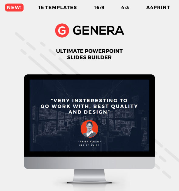 Genera - PowerPoint Slides Builder