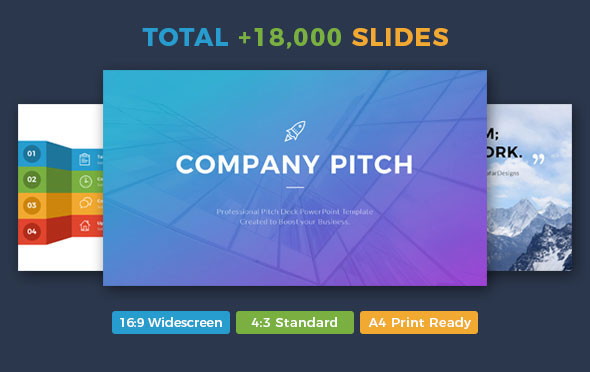 Company Pitch PowerPoint Template