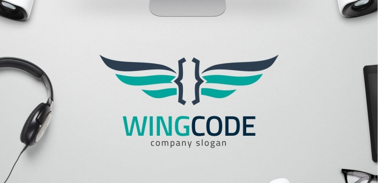 30 Wings Logo Design Templates To Fly Your Brand To Next Level
