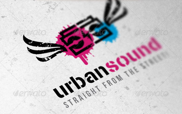 Urban Sound Creative Logo Template