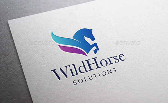 Wild Horse Logo