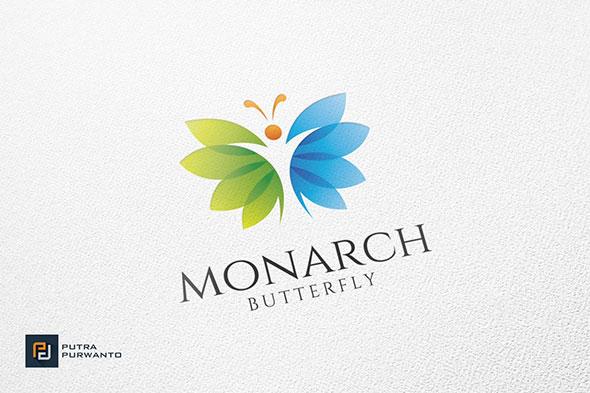 Monarch / Butterfly - Logo Template