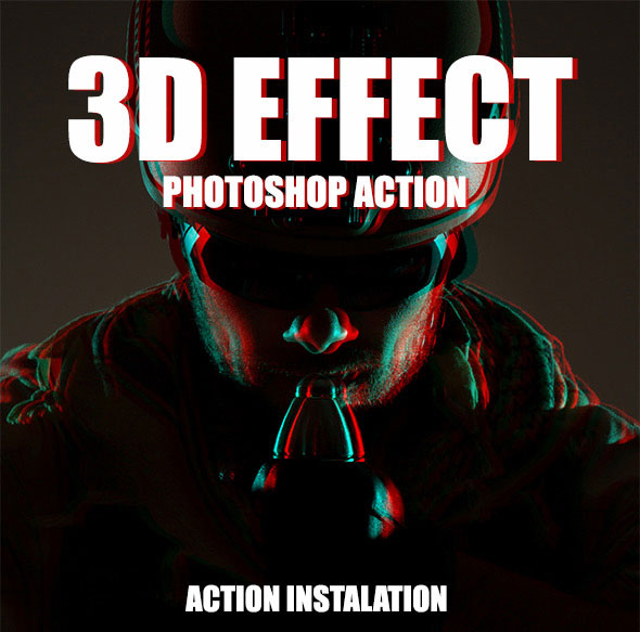 3D Effect - Photoshop Action