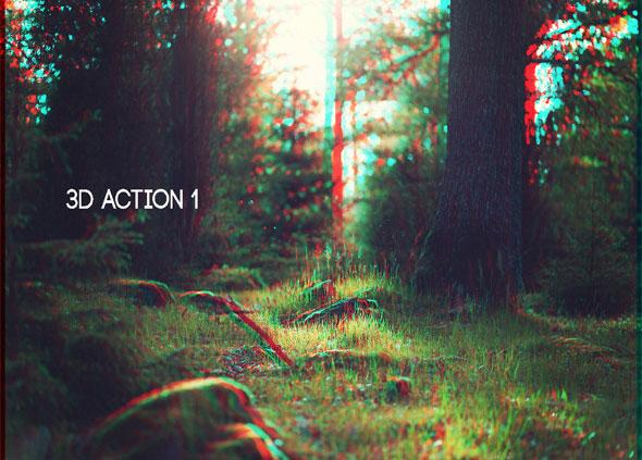 4 premium 3d actions
