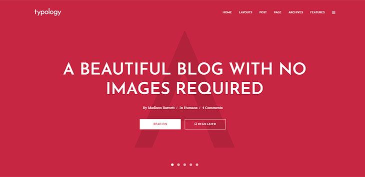 22 Minimalist Magazine, Newspaper & Blog WordPress Themes 2018