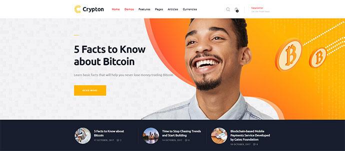 Crypton | Multi-Purpose Cryptocurrency WP Theme