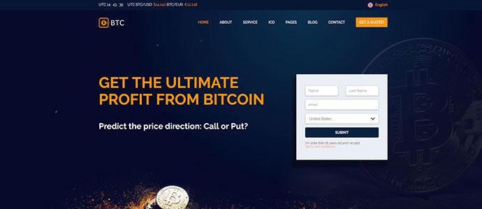 BTC - Crypto Coin & ICO Template