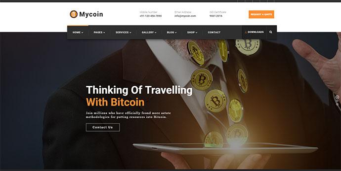 MyCoin - Bitcoin Crypto Currency Template