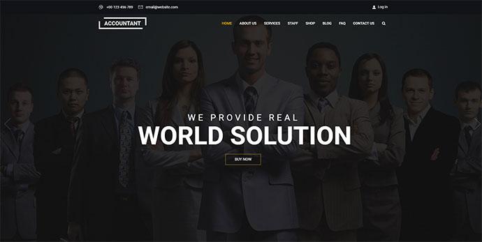 Accountant | Accounting WordPress Theme