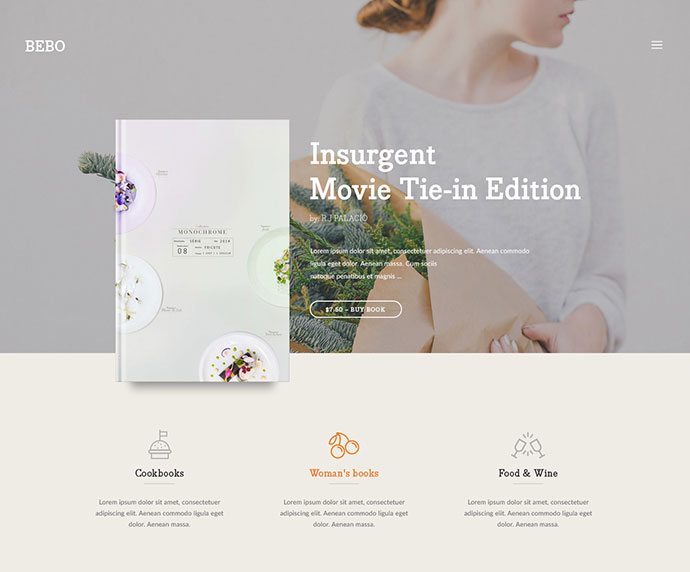 BEBO - Book/eBook/ISSUE + Author Landing Page