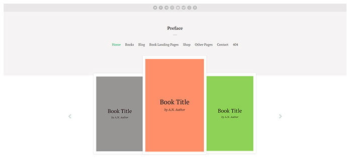 Preface: A WordPress Theme for Authors