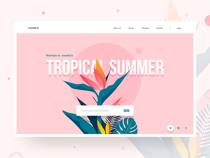 43 Excellent Website Header Concept Designs Bashooka