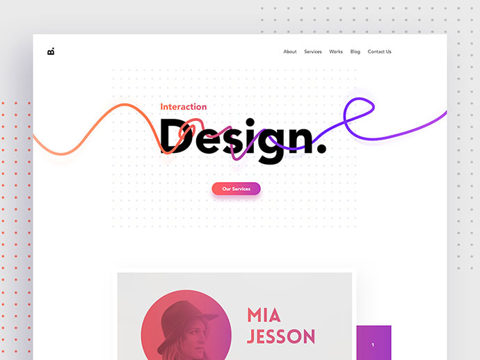 Creative Design Agency Website