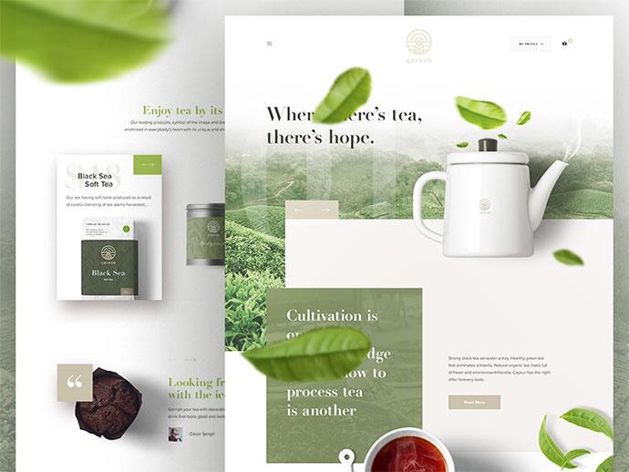 Caykur - Redesign Landing Page