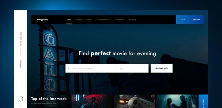 43 Excellent Website Header Concept Designs
