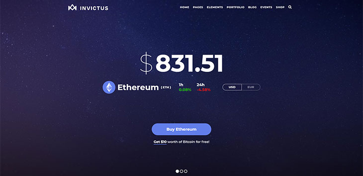 25 Best Cryptocurrency Website Templates & WordPress Themes