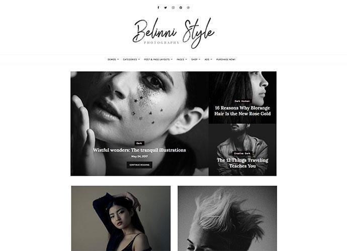 Belinni - Multi-Concept Blog / Magazine WordPress Theme