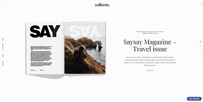 Collecto - Magazine WordPress Theme