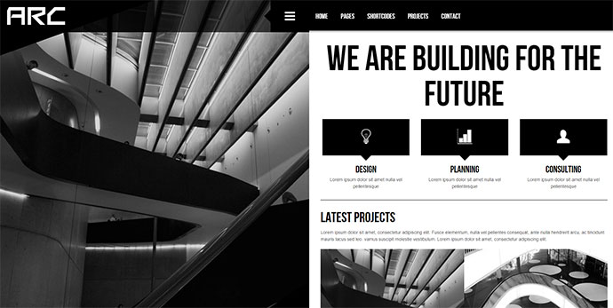 Arc - Responsive Architect Business WP Theme