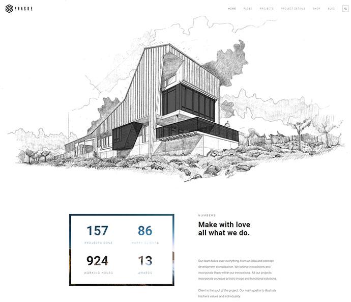 Prague   Architecture WordPress Architecture
