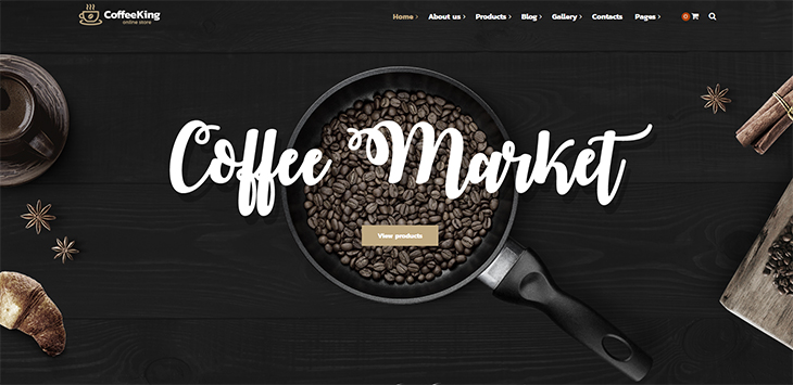 20 Coffee, Tea and Bakery Shop WordPress Themes
